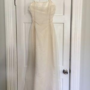 Vintage elegant prom, wedding, or graduation gown